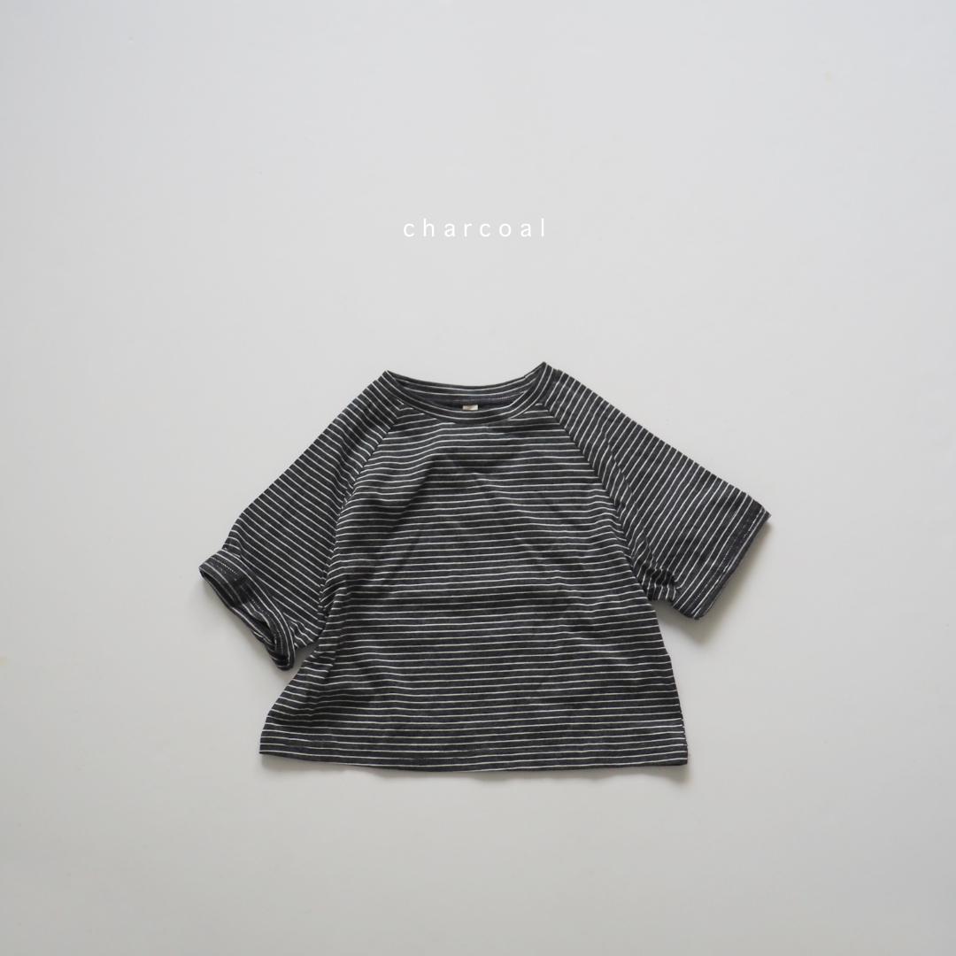 ボーダーワイドTシャツ