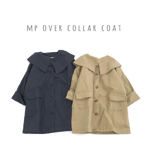 mpオーバーカラーコート