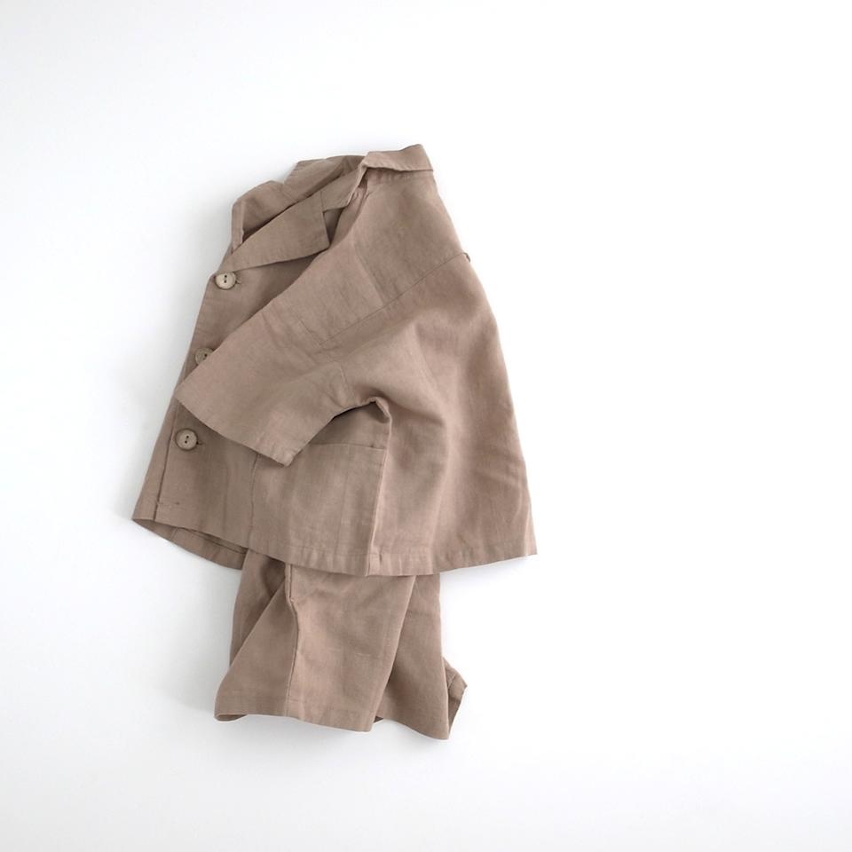 サマースーツ #ブラウン