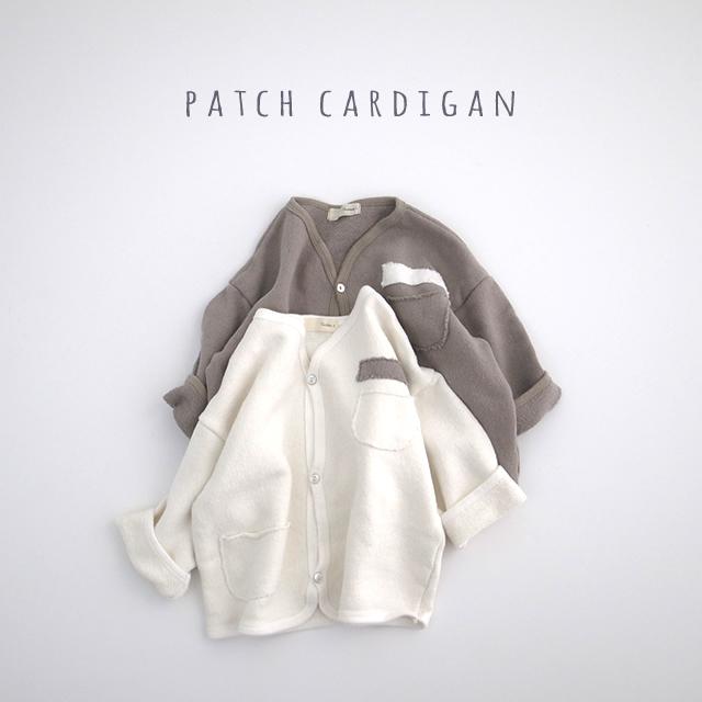 パッチカーディジャケット