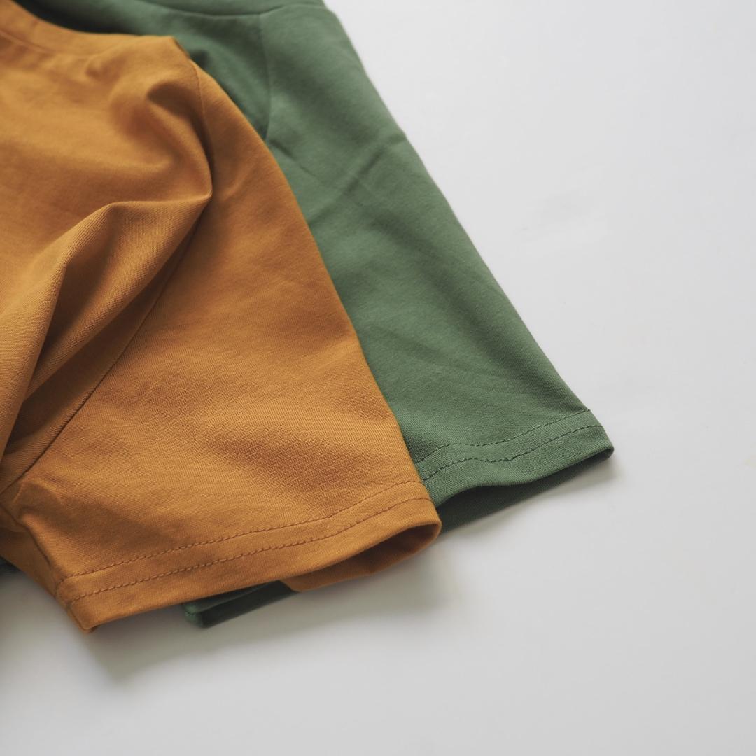 ドロップTシャツ / アクセント