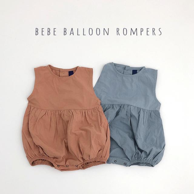 bebeバルーンロンパース