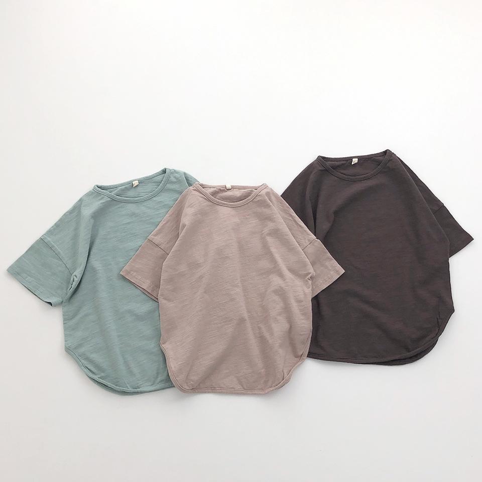 【osoro】オーバーTシャツ #ブラウン