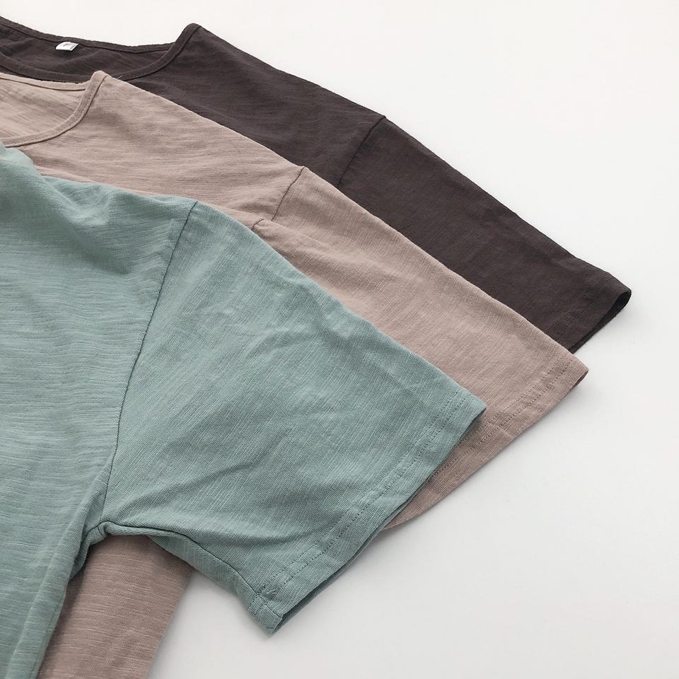 【osoro】オーバーTシャツ #ピンクブラウン