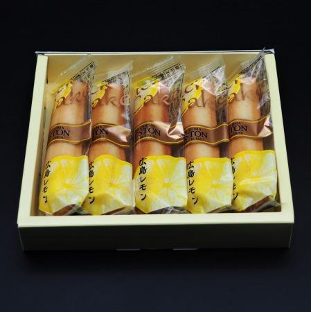 広島レモンスティック ミニ 箱入 1-8本箱入