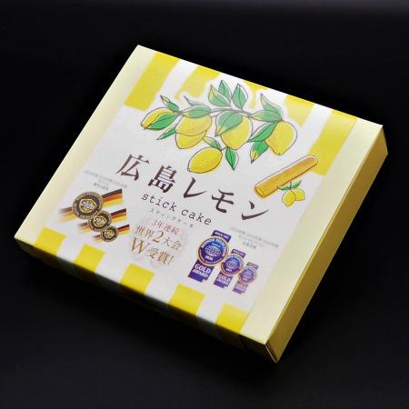 【母の日限定】広島レモンスティック ミニ 箱入 1-8本箱入