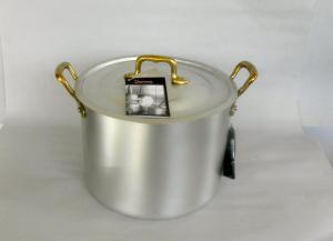 アルミ寸胴鍋(蓋付き)