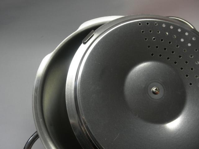 パスタ鍋(専用蓋付き)ステンレス製