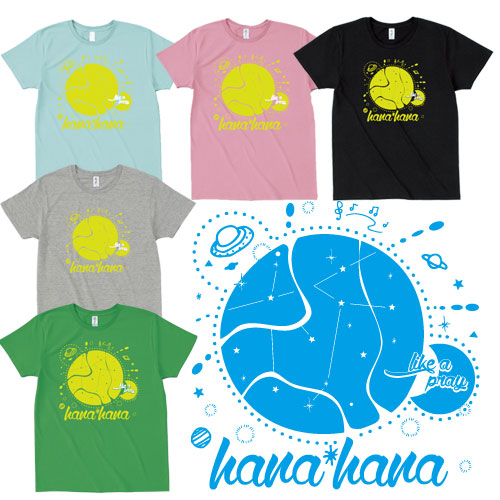 【GOODS】「like a pray Tシャツ」