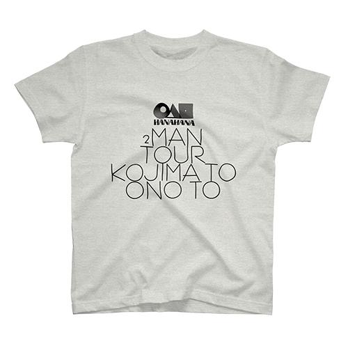 【GOODS】「こじまと、おのと、」ツーマンツアー Tシャツ