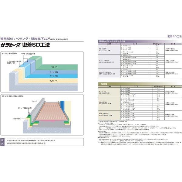 サラセーヌEZ 目止め用 環境対応型 24kgセット AGCポリマー建材 2液 弱溶剤