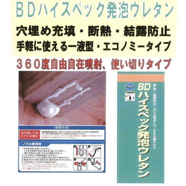 発泡ウレタン ガン HT-GUN 1丁/箱 BD発泡ウレタン 一液型発泡ウレタン専用ガン