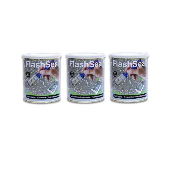 3缶まとめ買い フラッシュシール 750ml 1.13kg/缶 7000円/缶 万能防水補修塗料 雨漏り クラック ひび割れ 亀裂補修 塗るだけ 簡単補修