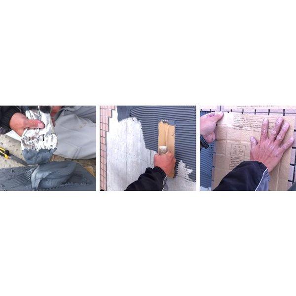 タイル張り 接着剤 エコエコボンド アイカ SE-35 SE-35H 内外装タイル用弾性接着剤 2kg/本×9本/箱 変性シリコーン樹脂