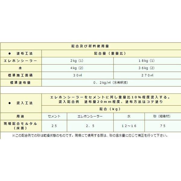 エレホンシーラー 2kg エレホン#100 エレホン#200専用シーラー エレホン化成工業