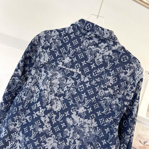 LV ルイヴィトン LOUIS VUITTON  【送料無料】 男女兼用  デニムジャケット  サイズ: XS~L  【掲載日:2021/09/14*180】 商品コード:GEKIYASU  L-005346