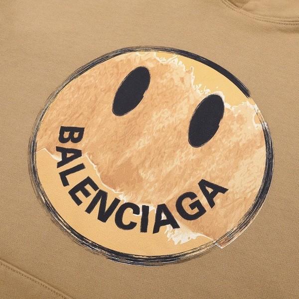 BALENCIAGA バレンシアガ【送料無料】 男女兼用 スマイル フード付きトレーナー パーカー サイズ: XS/S/M/L  【2020/08/26*145】   商品コード:GEKIYASU L-003188