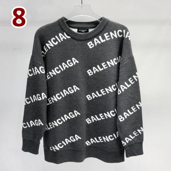 BALENCIAGA バレンシアガ 【送料無料】  ロゴラウンドネックニットセーター    8カラー  サイズ: M~XL  【掲載日:2021/09/14*155】 商品コード:GEKIYASU  L-005350