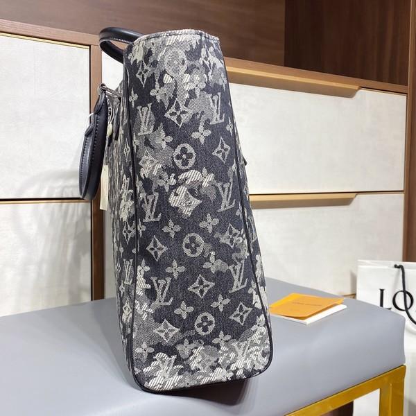 LV ルイヴィトン LOUIS VUITTON 【送料無料】 LV  デニムトートバッグ  サイズ: 45x35  【2021/01/22*150】 商品コード:GEKIYASU L-004296