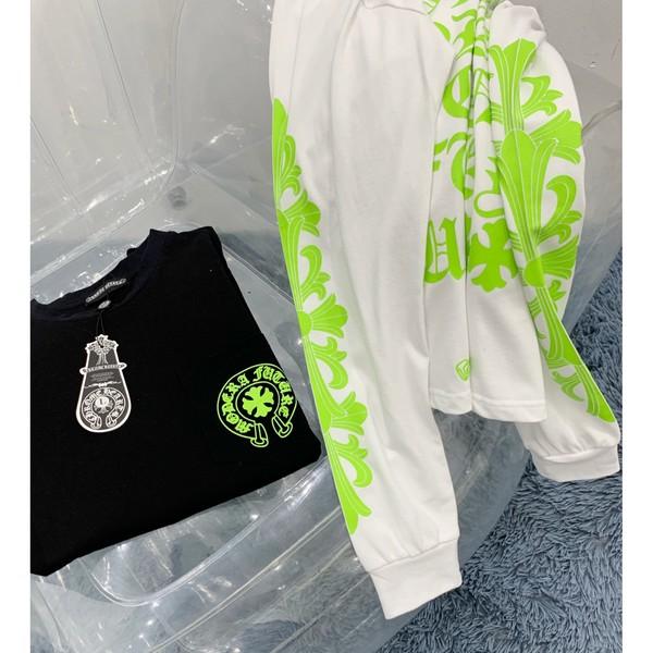 CHROME HEARTS クロムハーツ【送料無料】 ロゴトレーナー 2カラー サイズ: M/L/XL   【2020/08/28*80】   商品コード:GEKIYASU L-003203