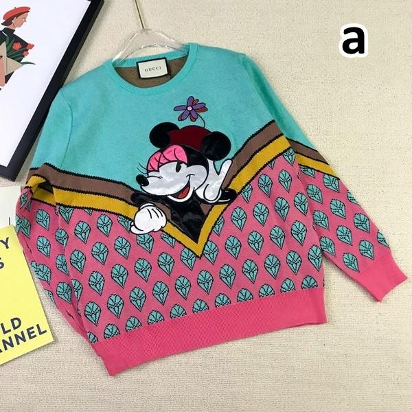 GUCCI グッチ【送料無料】 ディズニーミッキーラウンドネックセーター   2カラー サイズ:M/L 【2020/08/28*90】   商品コード:GEKIYASU L-003206