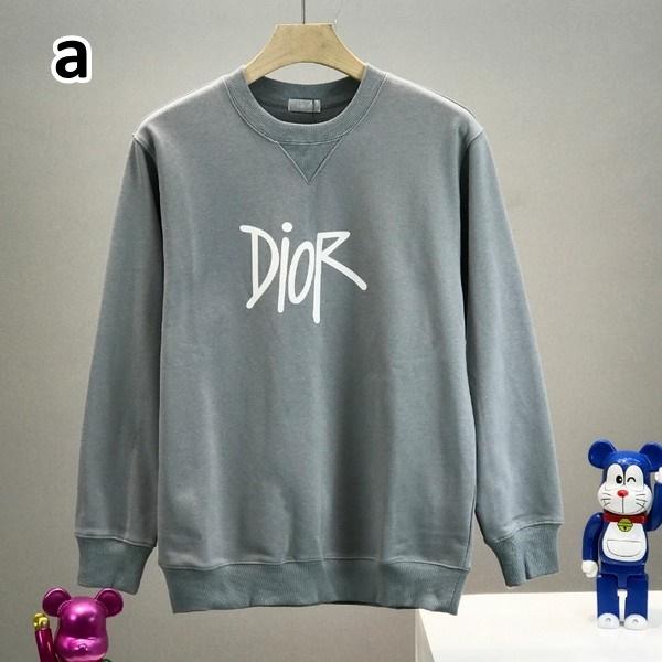 Dior ディオール 【送料無料】  男女兼用 Vネックライントレーナー  2カラー   サイズ:S/M/L/XL/XXL  【2020/08/18*130】  商品コード:GEKIYASU L-003118
