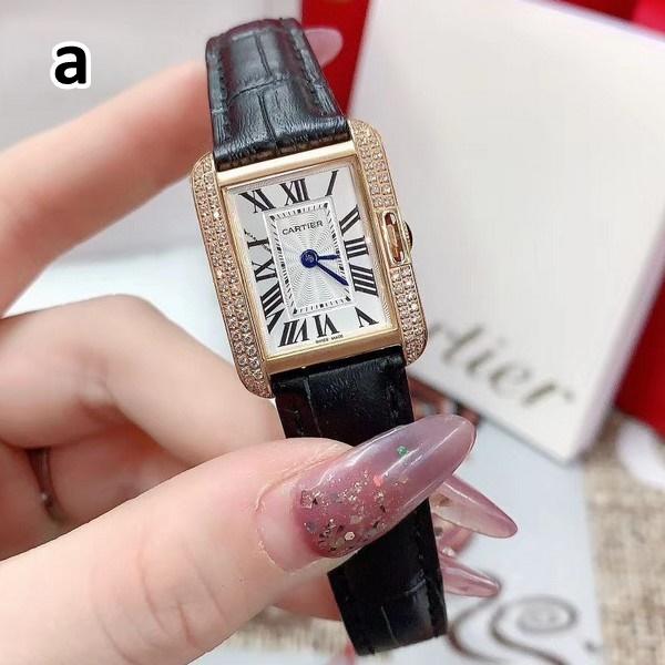 Cartier カルティエ  【送料無料】 腕時計   2カラー ※サイズ不明  【2020/08/19*280】  商品コード:GEKIYASU L-003122