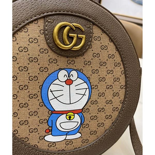 GUCCI グッチ【送料無料】GGドラえもんケーキバック サイズ: 19x19 【2021/02/*115】 商品コード:GEKIYASU L-004334