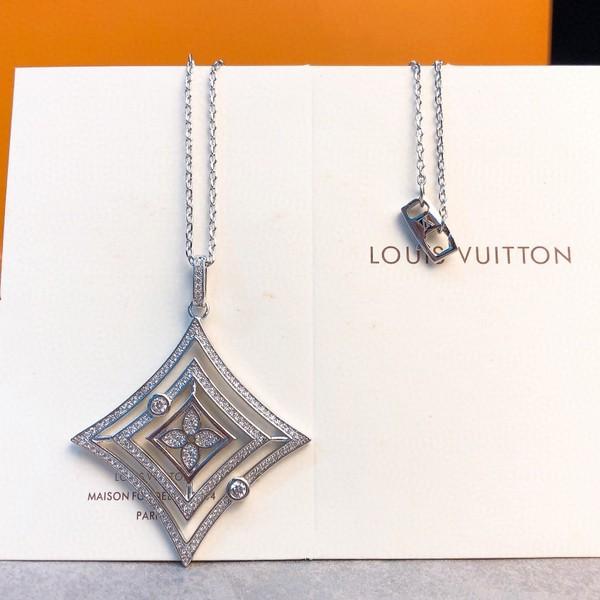 LV ルイヴィトン LOUIS VUITTON 【送料無料】  LV レターシングルネックレス   3カラー 【2020/10/21*130】   商品コード:GEKIYASU L-003631