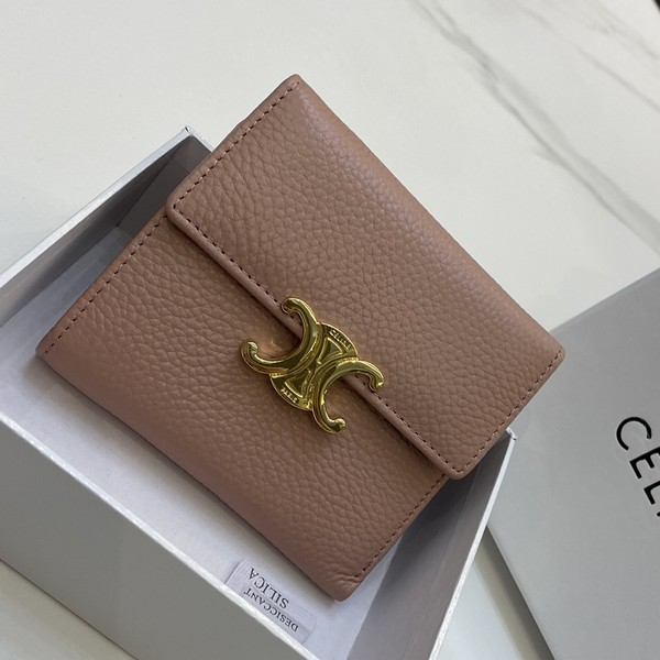 CELINE セリーヌ 【送料無料】  2つ折り財布    2カラー サイズ: 11x10 【2021/04/06*85】 商品コード:GEKIYASU  L-004656
