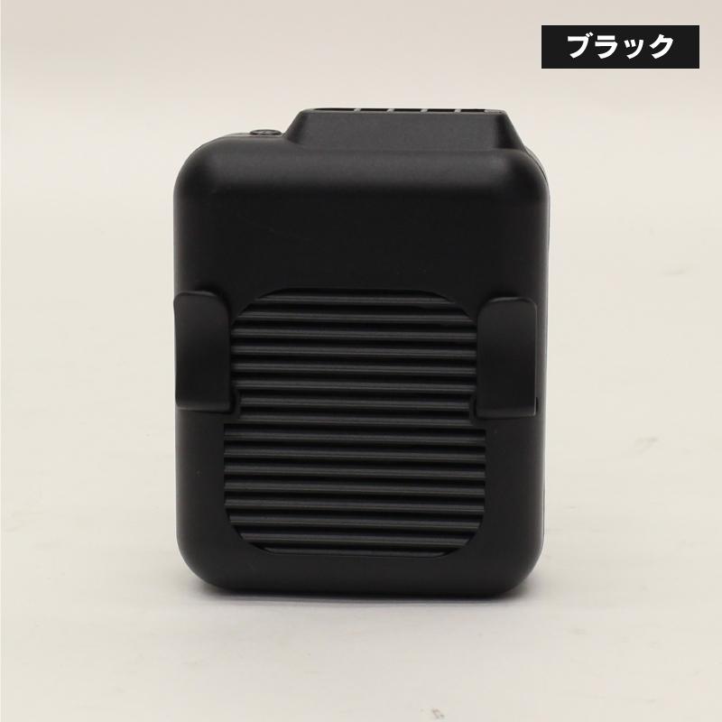 HCF20-29DL 2WAYハイパワーエアーベルトファン(ブラック)