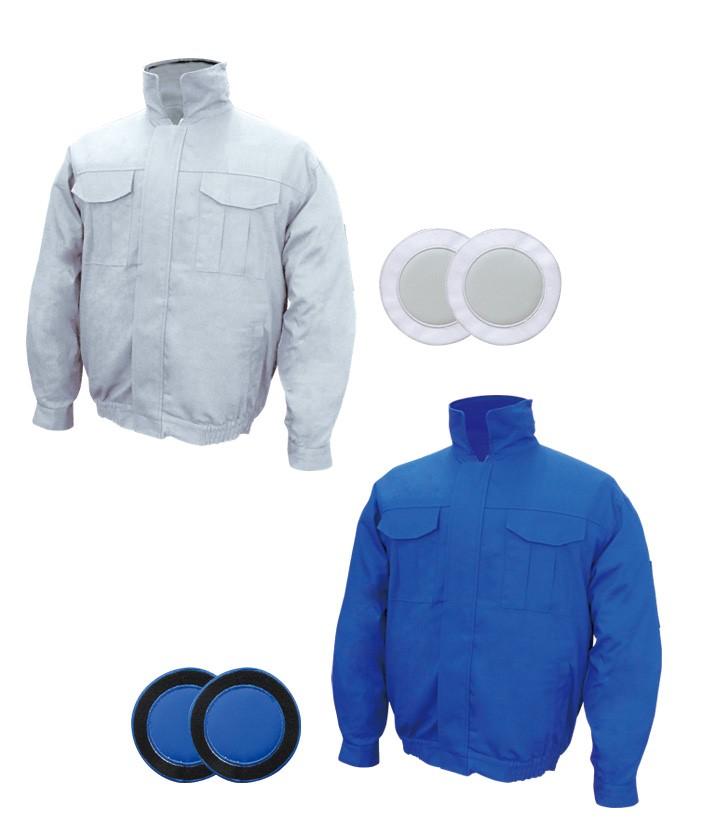 BR-5601 【綿100%薄手】空調エアコン(R)服(ノーマルタイプ)[服地のみ]