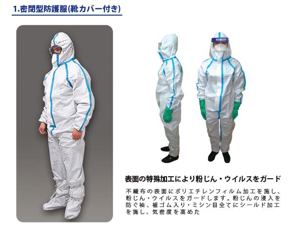 BR-880 感染症防護対策キット(XLのみ)