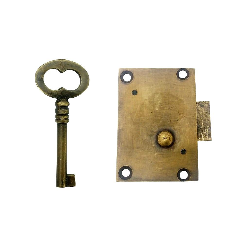 真鍮 アンティークゴールド 鍵セット X017