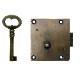 真鍮 アンティークゴールド 鍵セット X021