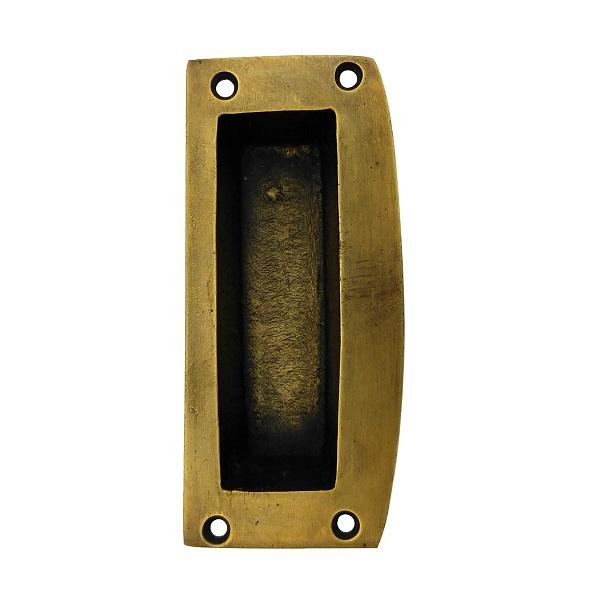 真鍮 アンティークゴールド 引手取っ手J013