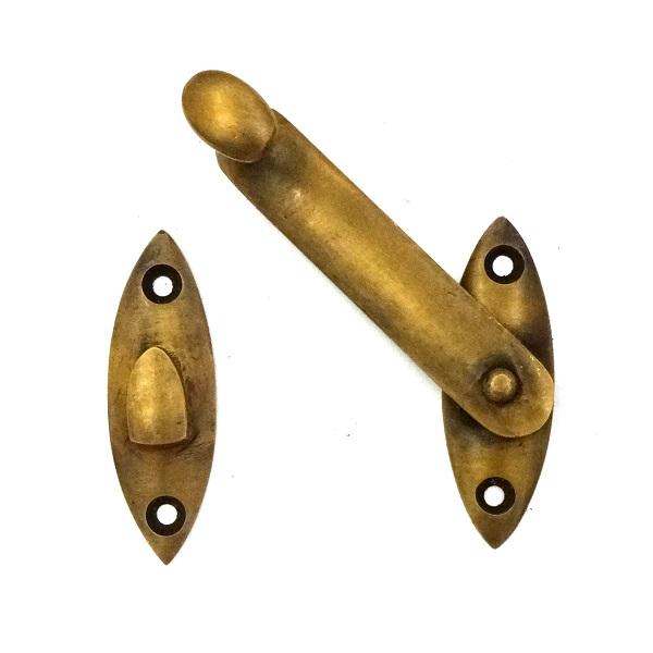真鍮 アンティークゴールド ラッチW036
