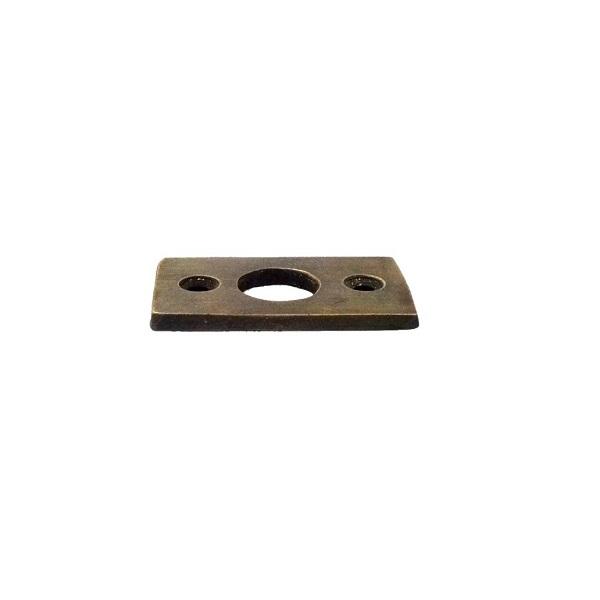 真鍮 アンティークゴールド ラッチプレート PlateW