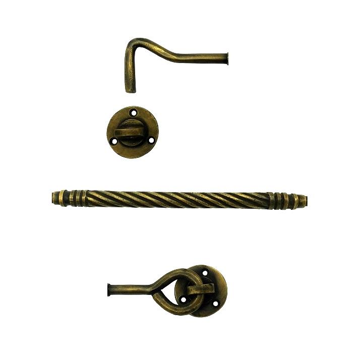 真鍮 アンティークゴールド アオリ止めAB014
