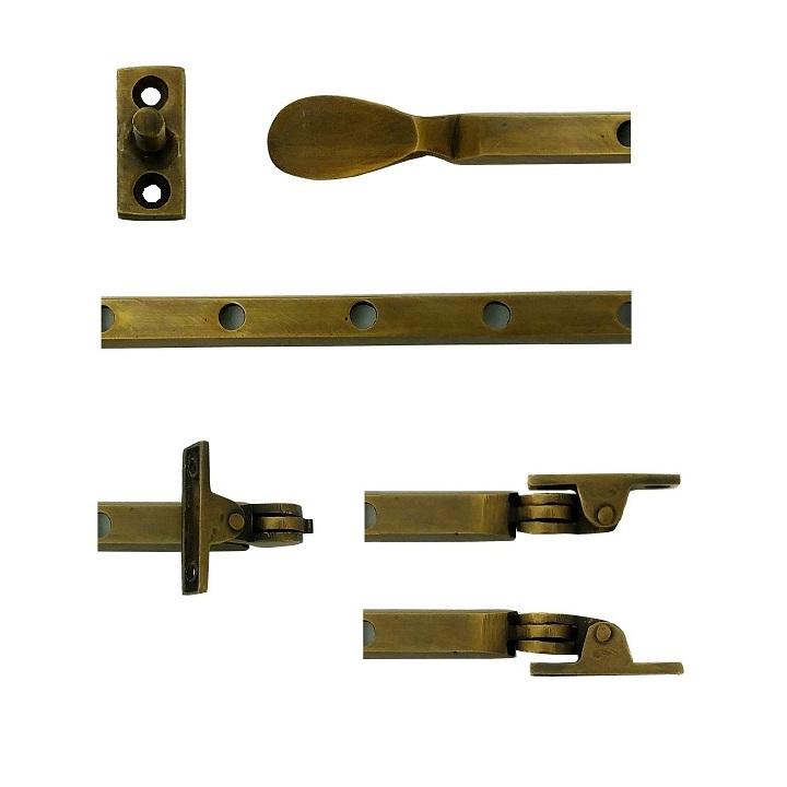 真鍮 アンティークゴールド アオリ止めAB015