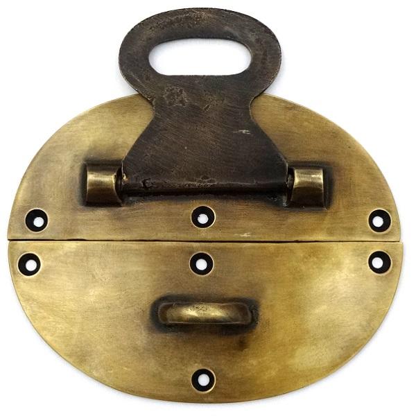 真鍮 アンティークゴールド 留め金具Q020