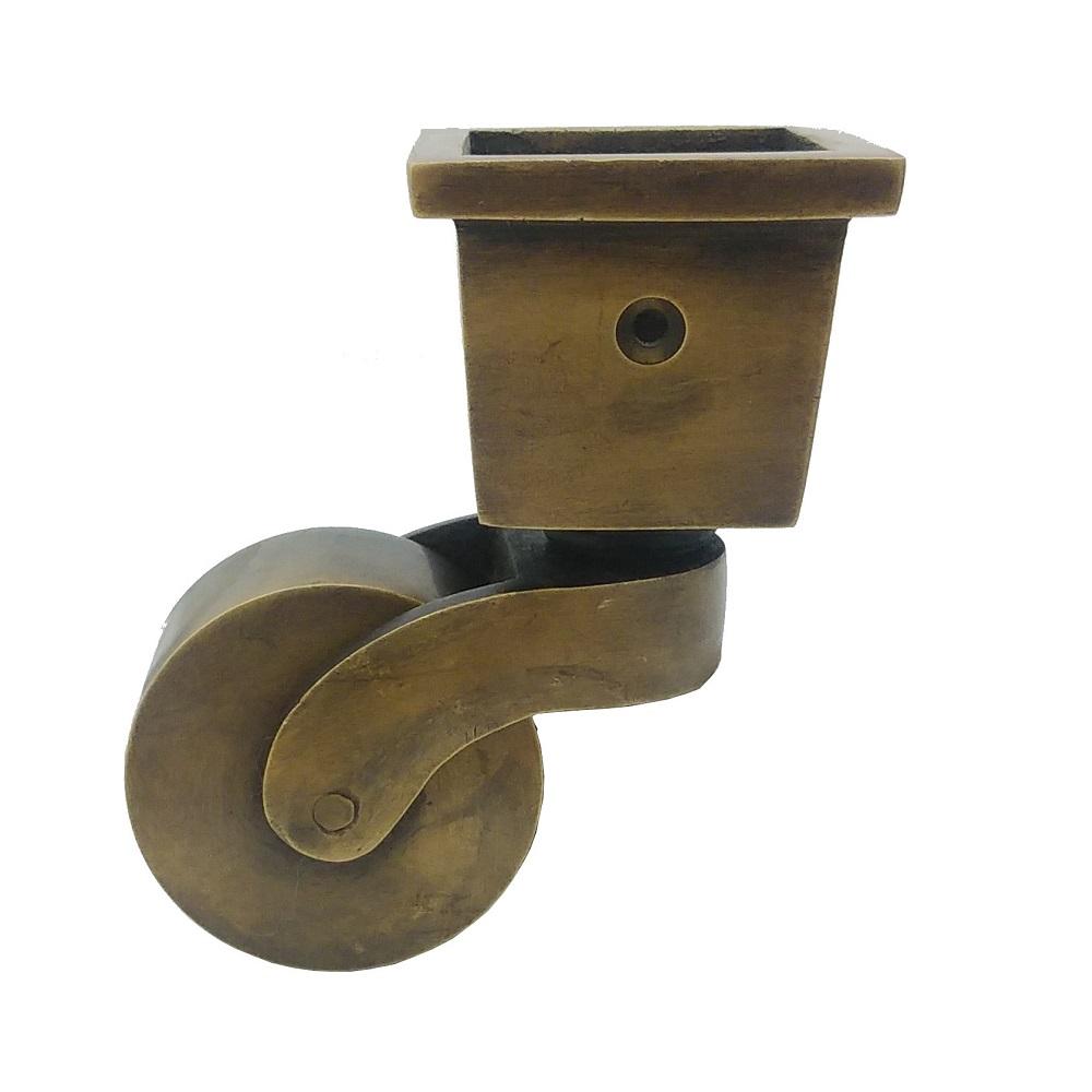 真鍮 アンティークゴールド キャスターY012