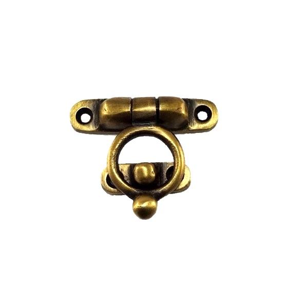 真鍮 アンティークゴールド 留め金具Q4289