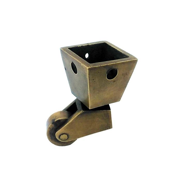 真鍮 アンティークゴールド キャスターY013