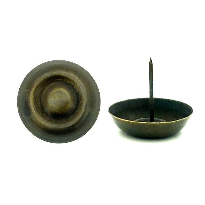 真鍮 アンティークゴールド 太鼓鋲AA015