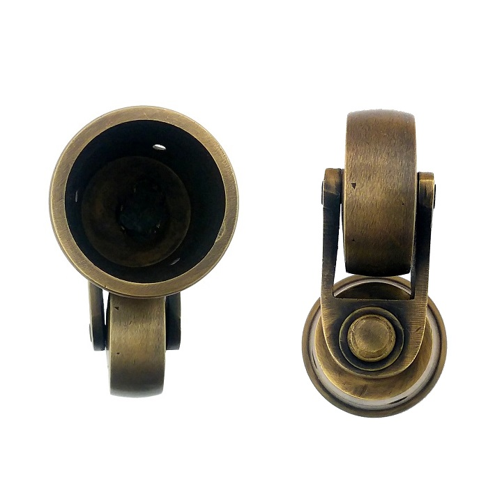 真鍮 アンティークゴールド キャスターY017