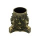 真鍮 アンティークゴールド 脚キャップ Y023