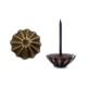 真鍮 アンティークゴールド 太鼓鋲AA019