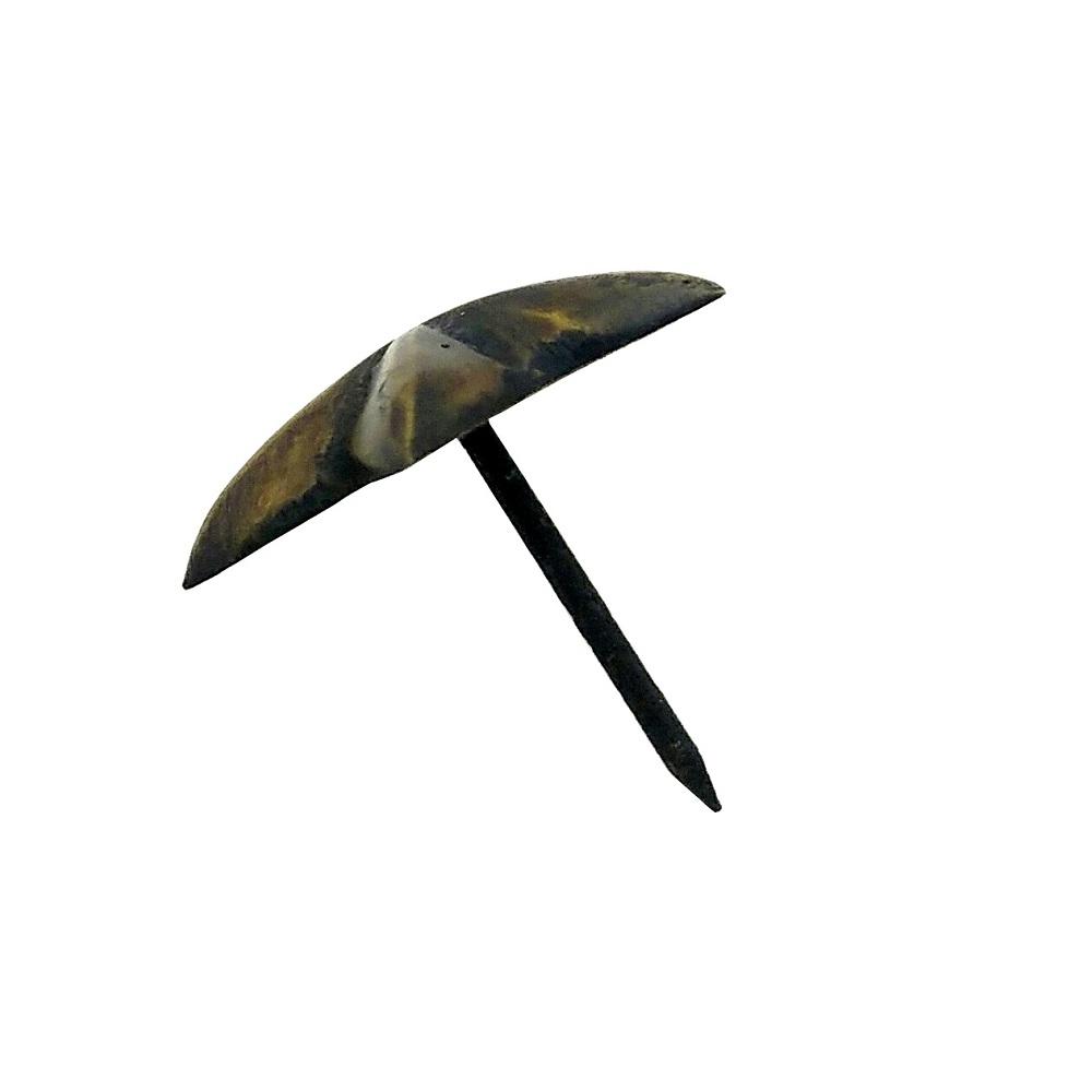 真鍮 アンティークゴールド 太鼓鋲AA026