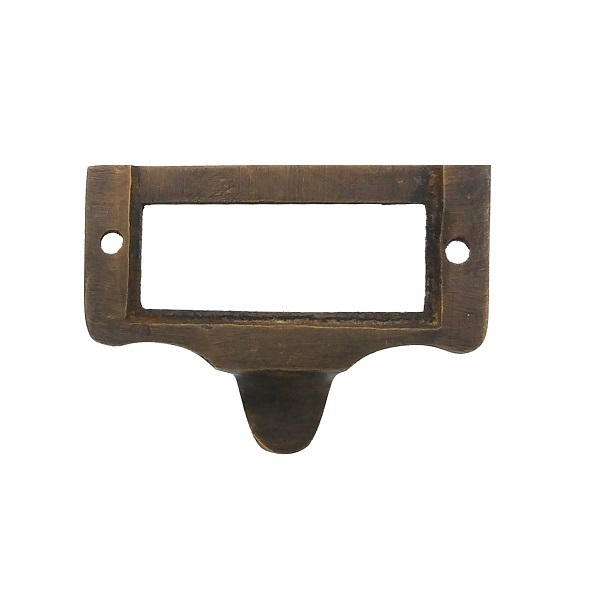 真鍮 アンティークゴールド カードホルダー取っ手J018